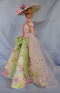 Tea in the Rose Garden Fashion by ShhDollWorks -sold on Etsy