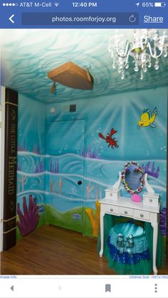 Finding dory room