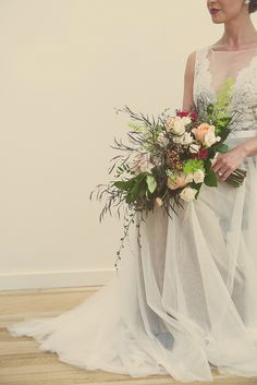 Vintage Loft Wedding Inspiration Featured On Midwest Bride
