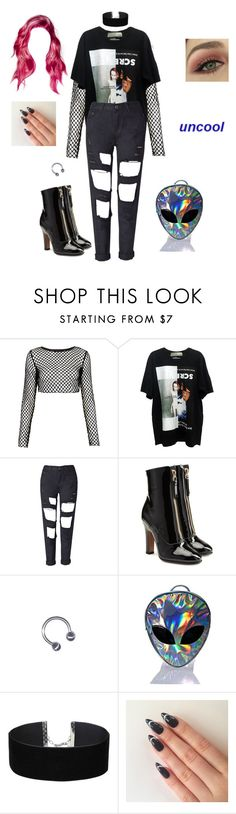"""Bad Romance"" by contemptresss ❤ liked on Polyvore featuring Motel, Valentino, Disturbia and Miss Selfridge"