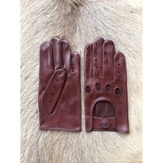 Italian Lambskin Driving Leather Gloves