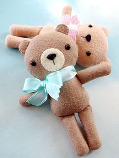 Sewing - Doll & Toy Patterns - Stuffed Animal Patterns - Bailey the Bear
