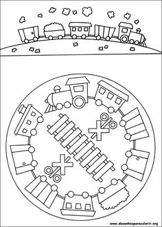 39 Best Train Coloring Sheets Images Kids Coloring Pages