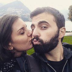 """Samio una coppia """"bellissimi"""" xD // #love #lugano #lac #lagolugano"""