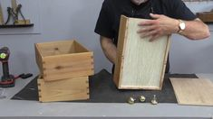 Easy Dovetail Drawers with a Wood Router Jig Wood Router, Router Woodworking, Woodworking Techniques, Dovetail Router Jig, Wood Jig, Woodworking Tool Cabinet, Woodworking Tools, Router Projects, Diy Wood Projects