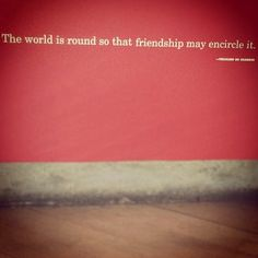 Friendship #quote #wordstoliveby