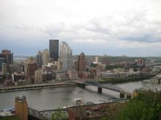 Pittsburgh - Where clouds live when they are not elsewhere.  Only 100 days of sunshine per year.