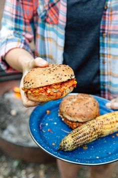 A plant-based approach to a classic camping recipe: Make these easy one-pot Red Lentil Sloppy Joes on your next campout