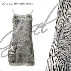 G.SEL DRESS - BLOOM ZEBRA GS10448