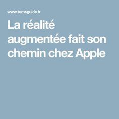 La réalité augmentée fait son chemin chez Apple