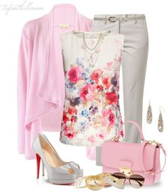 """""""Cashmere Cardigan"""" by tufootballmom on Polyvore"""
