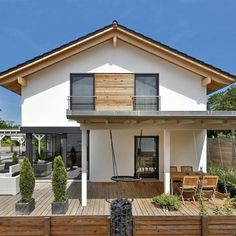 Modèle De Maison Maison Bruckberg Proposé Par Designhaus. Retrouvez Tous  Les Types De Maison à