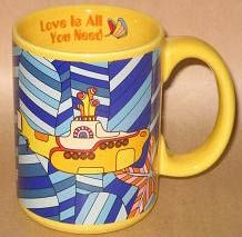 Yellow submarine mug :)                 I drink out of it daily