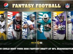 "Pepsi ""Fantasy Football"" at Buffalo Wild Wings Sweepstakes and Instant Win Game"