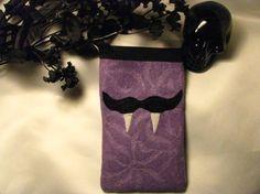 vamp mustache cell cozy