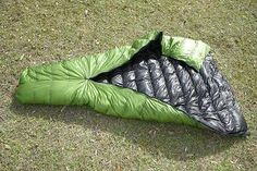 ZPacks.com Ultralight Backpacking Gear - 10, 20 and 30 degree 900 Fill Power Down Sleeping Bags. Pricey, but good options, and they will put in water resistant down for free. Most manufacturers charge extra for it--a lot extra.
