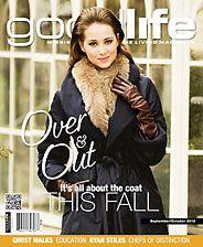 GoodLife Mississauga September/October 2012 Fall Coats cover