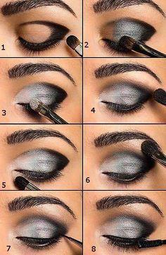 Khubsurat Beauty Tips: Steps of Smokey Eye Make up