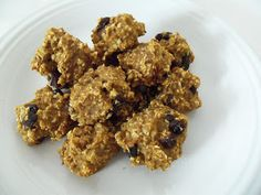 """Pumpkin Oatmeal """"Healthy Cookies,"""" These cookies use only a few ingredients are super quick and easy to make and healthy enough to eat them for breakfast!!"""