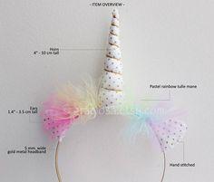 Puntos de oro y diademas de unicornio Pastel diademas de unicornio arco iris - Pastel Rainbow unicornio fiesta Pack - a granel - 15% de descuento Fiestas paquetes de 10 o mas diademas de unicornio se descuentan un 15%. Elija la cantidad deseada en el menú desplegable. 1. DESCRIPCIÓN: