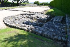 Segontium is a Roman fort for a Roman auxiliary force, located on the outskirts of Caernarfon in Gwynedd, north Wales.
