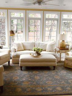 Cottage-Style Sunroo
