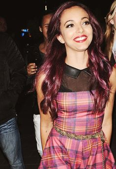 Jade Thirlwall Little Mix - I love her hair color!