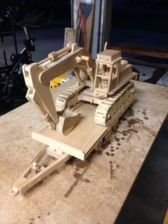 Working scale excavator out of wood http://ift.tt/2sVERK8