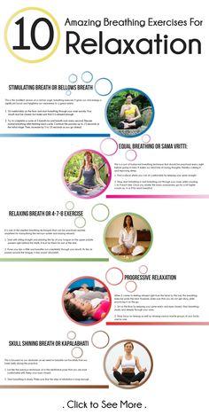 10 Amazing Breathing Exercises For Relaxation