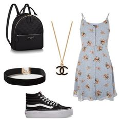 """""""Untitled #236"""" by ninaellie on Polyvore featuring Topshop, Vans and Dorothy Perkins"""