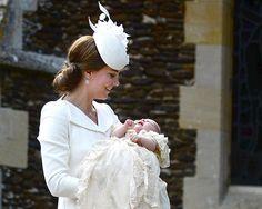 Radar: Kate Middleton Stuns at Charlotte's Christening