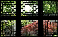 姑苏高层办公。利用瓦窗结合山景。Suzhou, China