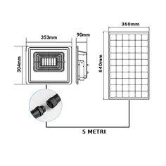 LED Solárne reflektory Floor Plans, Led, Diagram, Floor Plan Drawing, House Floor Plans