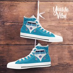 Peace   Love · Hippie Van High Tops High Top Vans 20bfa19b9