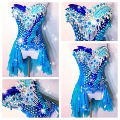 By: Electric Laundry -Im thinking this for one of the nights at electric forest! Rave Costumes, Mardi Gras Costumes, Burlesque Costumes, Corset Costumes, Nerd Costumes, 50s Costume, Vampire Costumes, Edm Outfits, Cool Outfits