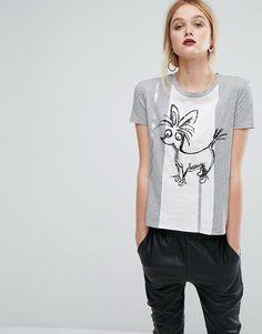 Sportmax Code Chihuaha T-Shirt - Gray
