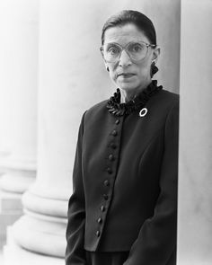 Michael O'Neill - Ruth Bader Ginsburg, Supreme Court, D. White Photography, Digital Photography, Photography Reflector, Profile Photography, Photography Degree, Photography Hacks, Photography School, Photography Competitions, Minimalist Photography