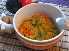 we love veggie: Scharfes Linsencurry