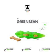 Zee.Dog Toys | Super Veggiez | The Giant Greenbean