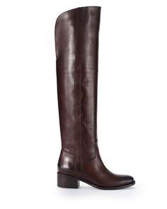 Calfskin Safia Boot - Ralph Lauren Boots - RalphLauren.com