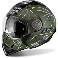 Airoh J 106 Modular Helmet with integrated sun visor and removable face mask.