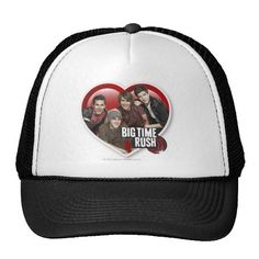 BTR Boys in Heart with Logo Mesh Hats