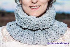 Cuello hecho con trapillo Trapillo Crochet 67ec038e58c