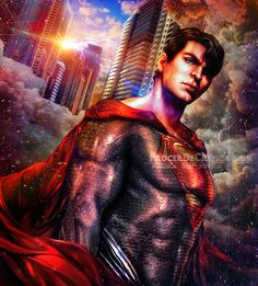 Superman - Apotheosized Adjudicator by ProcerDeCrepusculum
