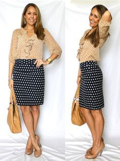 polka dot skirt jseverydayfashion - Szukaj w Google