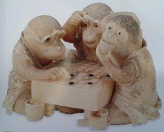 Monkeys playing Go