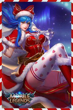 Eudora Christmas Cheer Wallpaper