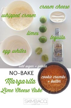 how to make no-bake cheese cake / key lime pie #MakeItWithTheLifeguard @Sauza® Tequila
