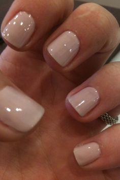 Wanting a cute nude color like this!!