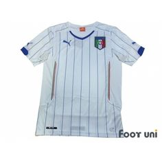 Photo1: Italy 2014 Away Shirt w/tags - Football Shirts,Soccer Jerseys,Vintage Classic Retro - Online Store From Footuni Japan
